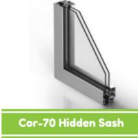 Cor-70 Hidden Sash